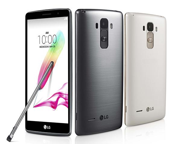 LG G4 Stylus com Android Marshmallow