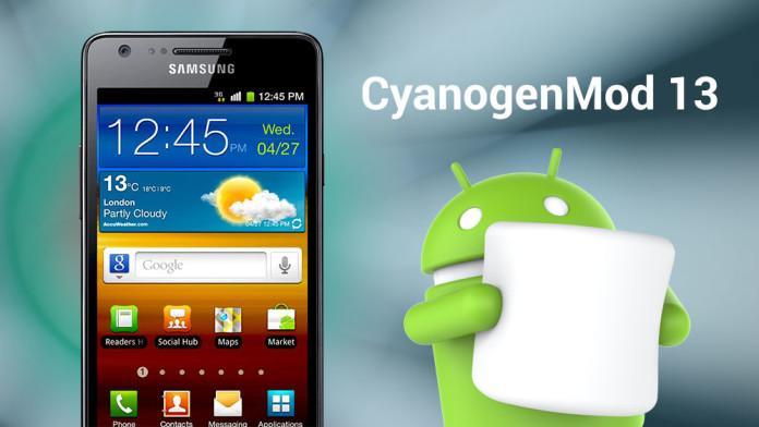 Android Marshmallow no Galaxy S2