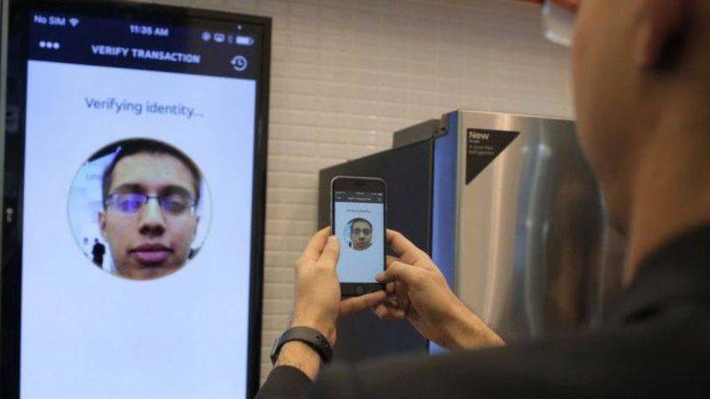 Reconhecimento facial da MasterCard