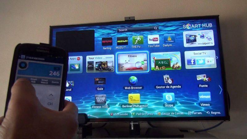 Smartphone controle remoto
