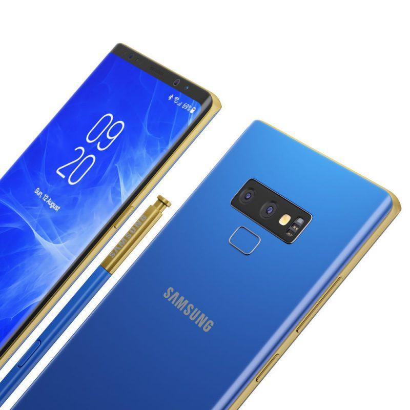 Samsung Galaxy Note 9 rumores